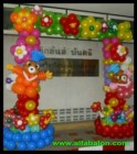 DEKORASI BALON BACKDROP