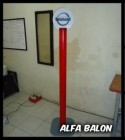 STAMPLE TIANG BALON