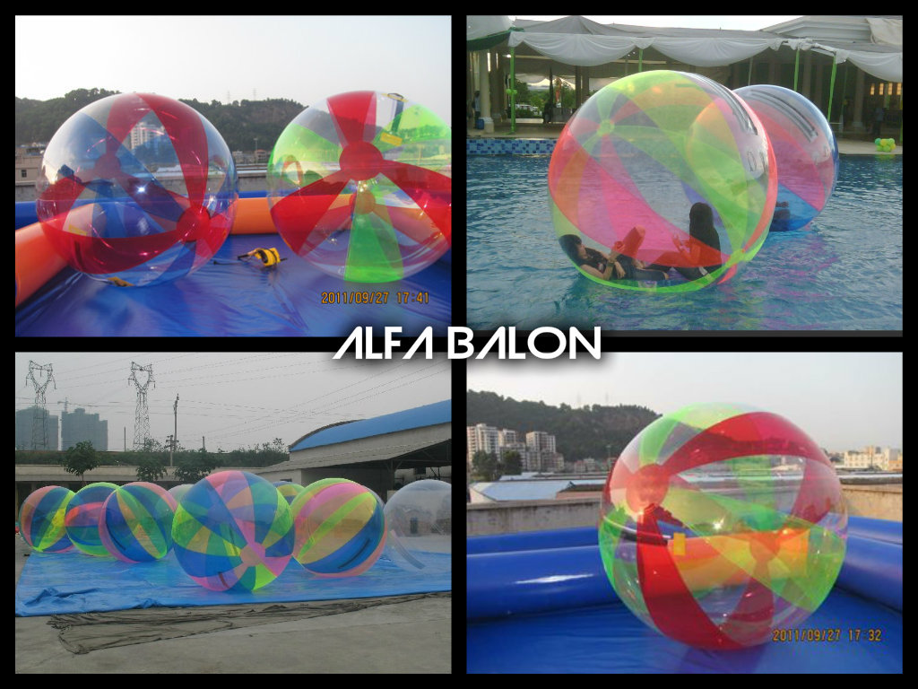 water ball, bola air