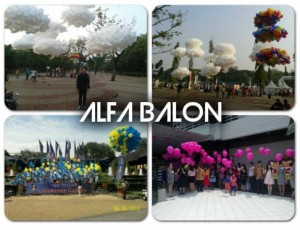Balon Gas Pelepasan | Balon Gas Hidrogen