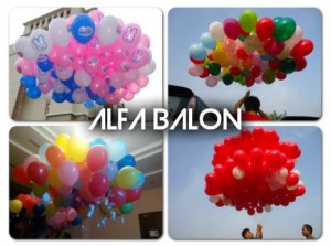 Balon Gas Pelepasan | Balon Gas Helium