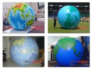 balon globe , balon dunia