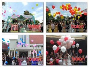 Balon Gas Pernikahan
