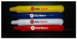 Jual Balon tepuk polos dan sablon logo harga murah