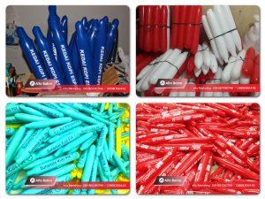 Jual Balon Tepuk, Balon Supporter Murah dan Berkualitas sangat bagus digunakan untuk meramaikan acara Anda saat perlombaan dan event lainnya. Pesanan tersedia di seluruh Indonesia terutama Bekasi, Jakarta Tangerang, Depok, dan Bogor.