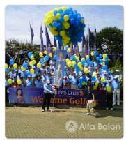 Pelepasan Balon Gas Golf