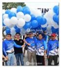 Balon Gate Car Free Day di kawasan Jababeka Residence Cikarang