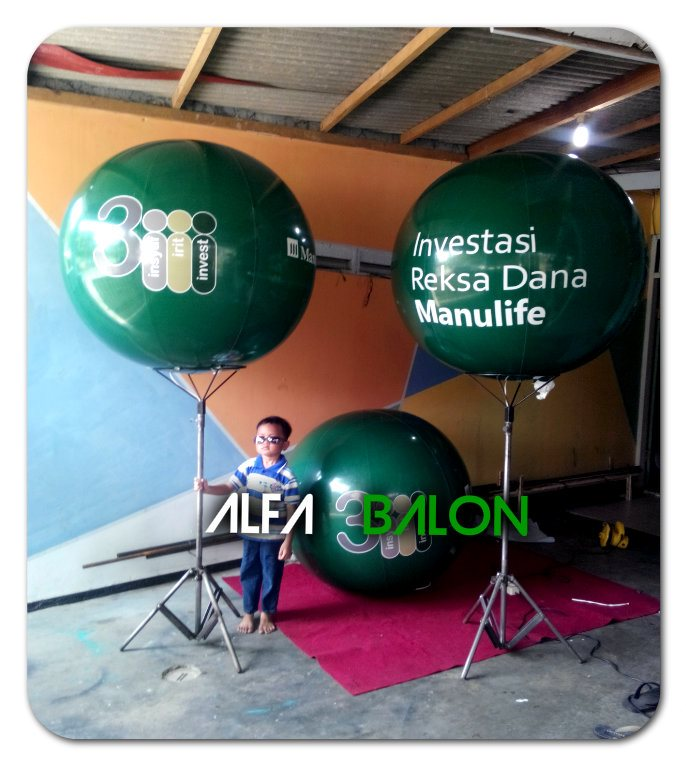 Balon Lighting Bulat