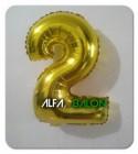 Balon Foil Angka
