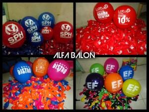 Balon Sablon | Balon Printing
