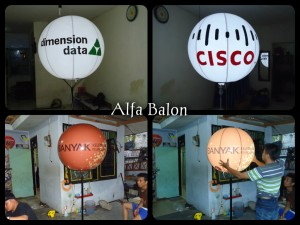 Balon Light Bulat