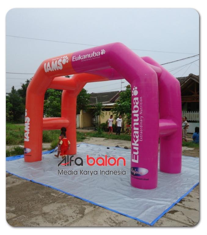 Balon GAte Bahan PVC
