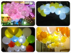 Balon Gas LED